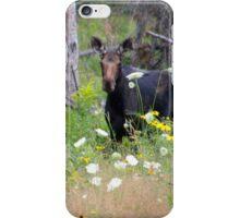 Pretty Moose Cow iPhone Case/Skin