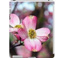 Pink and White Dogwood Blossoms iPad Case/Skin
