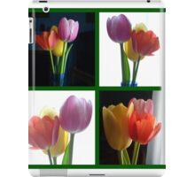 Candy Coloured Tulips X 4 iPad Case/Skin