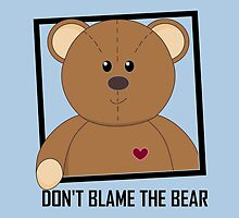 DON'T BLAME THE TEDDY BEAR by Jean Gregory  Evans