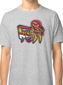 Sneaky Mascot Tag Classic T-Shirt