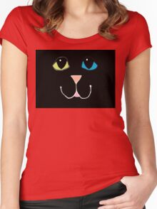 Here Kitty, Kitty ... #3 Women's Fitted Scoop T-Shirt