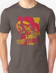 Sneaky Mascot Stencil Unisex T-Shirt