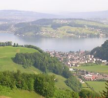lake lucerne by dennis wingard