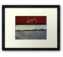 Tag of the Urban Tribe Framed Print