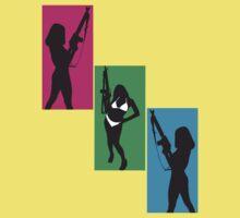 Girls With Guns by gagman