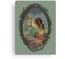 The Witness Canvas Print