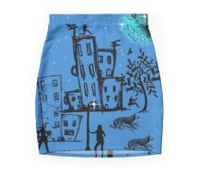 SUBURBAN DINGOES Mini Skirt