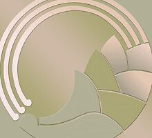 Art Deco Circle of Life by CulturalView