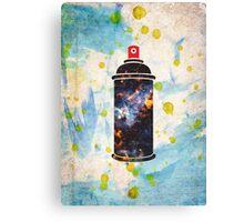 Spray Print Canvas Print