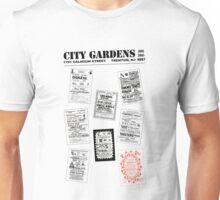 City Gardens - Punk Card Tee Shirt (v. 3.0) Unisex T-Shirt