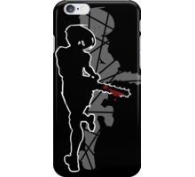 YGSS – Chainsaw Vengeance Grey iPhone Case/Skin