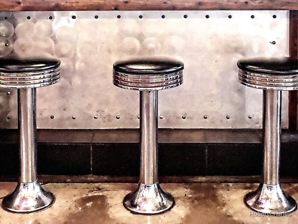 Diner Stools by RobertCharles