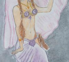 The Belly Dancer  by kerrysart