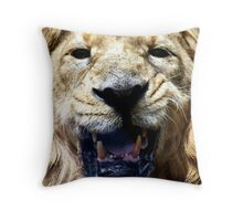Ashok! Throw Pillow