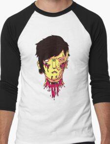 The Haunted Boy. Men's Baseball ¾ T-Shirt
