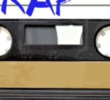 Rap Music - Cassette Tape - MC Sticker
