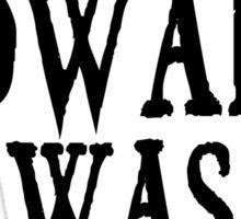 Twilight Edward Was Here Broken Heart T-Shirt Sticker