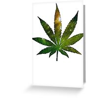 Pot Leaf Greeting Card
