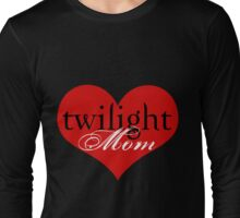 Twilight Mom Heart T-Shirt Long Sleeve T-Shirt