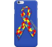 Autism Awareness Ribbon iPhone Case/Skin