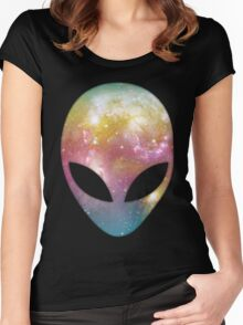 Space Alien Women's Fitted Scoop T-Shirt