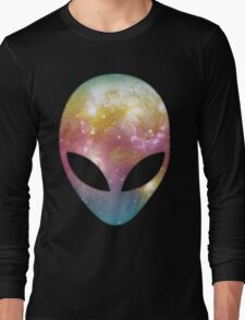 Space Alien Long Sleeve T-Shirt