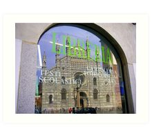 The Cathedral in the Shopfront Art Print