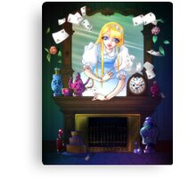 Alice Canvas Print