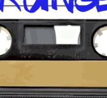 Grunge Music - Cassette Tape Sticker