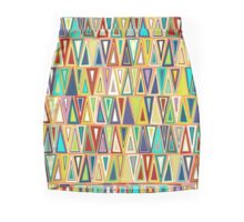 nectarine triangles Mini Skirt
