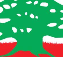 Lebanon - كلنا للوطن للعلى للعلم Sticker