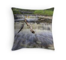 Middle Falls Throw Pillow