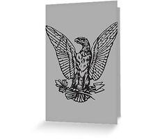 Morgan Eagle Greeting Card