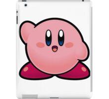 "kirby ""hi"" iPad Case/Skin"