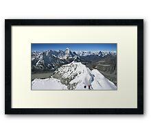 Himalaya High Framed Print
