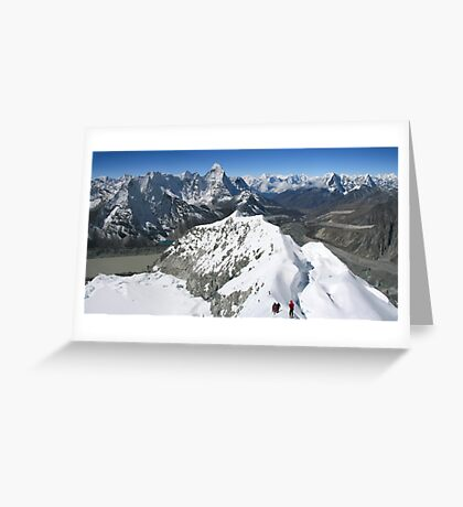 Himalaya High Greeting Card