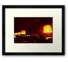 Passing Light Framed Print