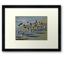 Unlimited Strike Without Notice Framed Print