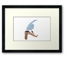 I am a Present Floating in the Wind to You Framed Print