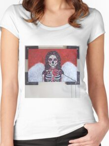 Trudging through oblivion Women's Fitted Scoop T-Shirt
