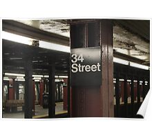 34th Street  Poster