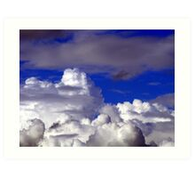 Cloudscape. Art Print