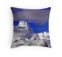 Cloudscape. Throw Pillow