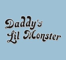 Daddy's Lil Monster Kids Clothes