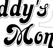 Daddy's Lil Monster Sticker