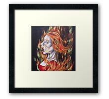 guilty until extra crispy Framed Print