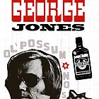 COUNTRY STAR GEORGE JONES PRINT POSTER by westox