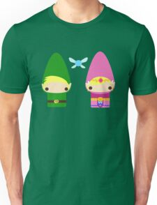 Gnome Link and Zelda Unisex T-Shirt
