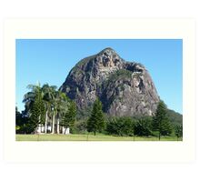 Glasshouse Mountains Art Print